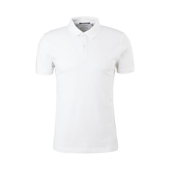 Poloshirt aus Baumwollpiqué - T-Shirt