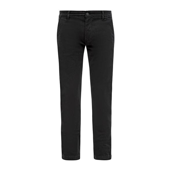 Slim Fit: Slim leg-Hose aus Twill - Hose