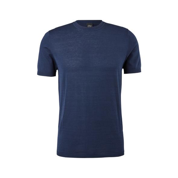 Strickshirt mit Pima-Baumwolle - Strickshirt