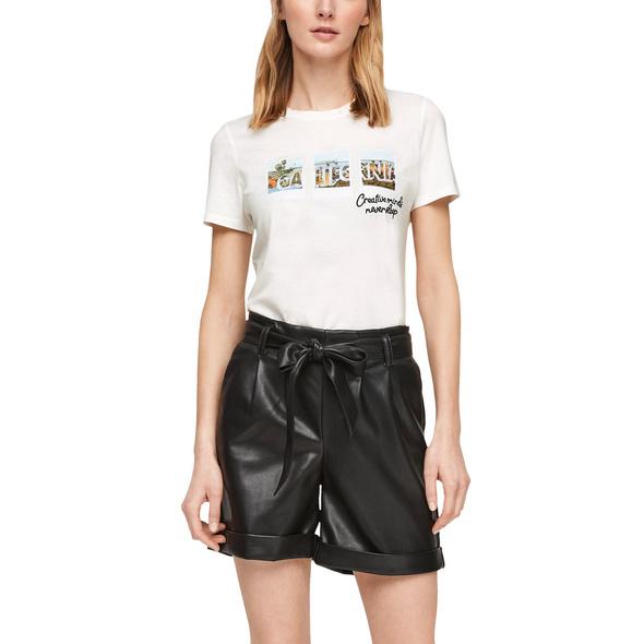 T-Shirt mit Fotoprint-Collage - Jersey-T-Shirt
