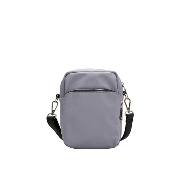 Kompakte City Bag mit Kontrastriemen - Tasche
