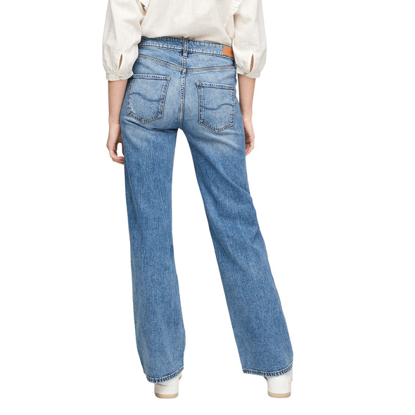 Slim Fit: Wide leg-Denim - Jeans