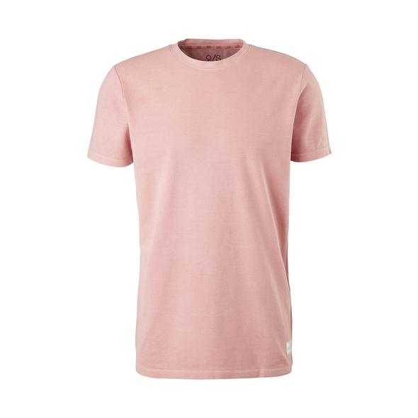T-Shirt mit Piquéstruktur - Piquéshirt