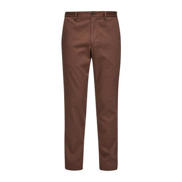 Slim Fit: Hose aus Baumwollstretch - Hose