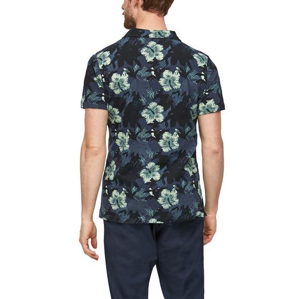 Jerseyshirt mit Hemdkragen - T-Shirt