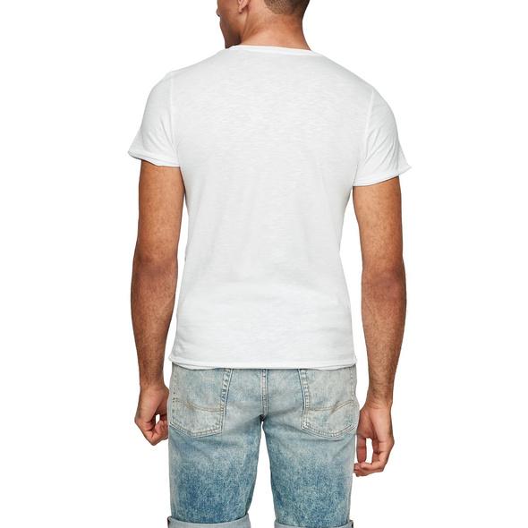 Slim: Shirt aus Baumwolle - T-Shirt