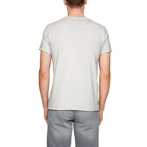 Jerseyshirt im Used Look - T-Shirt