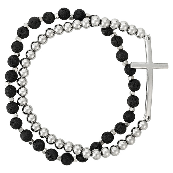 Herren Armband-Set - Lava Cross