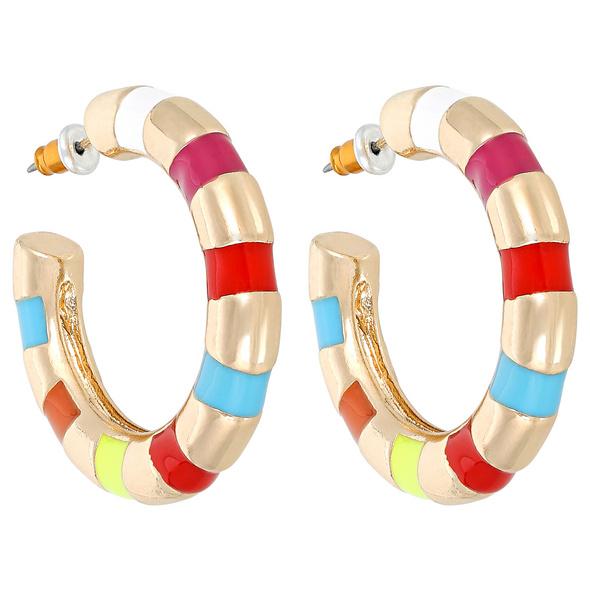 Creolen - Color Stripes