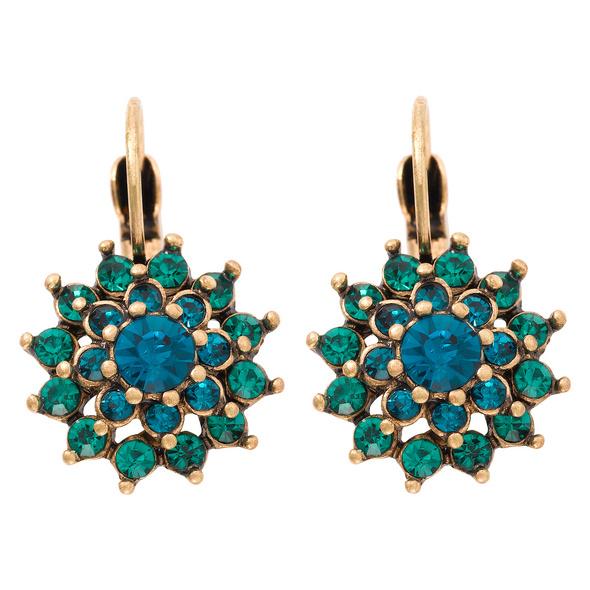 Ohrhänger - Ocean Blue Spikes