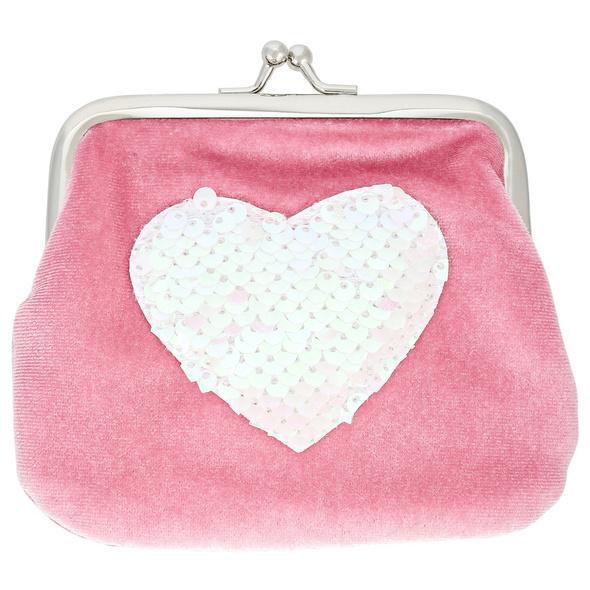 Kinder Portemonnaie - Pink Heart