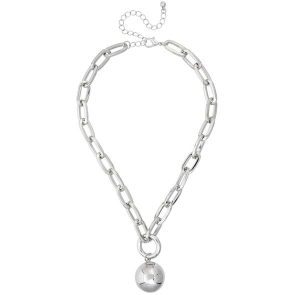Kette - Silver Ball