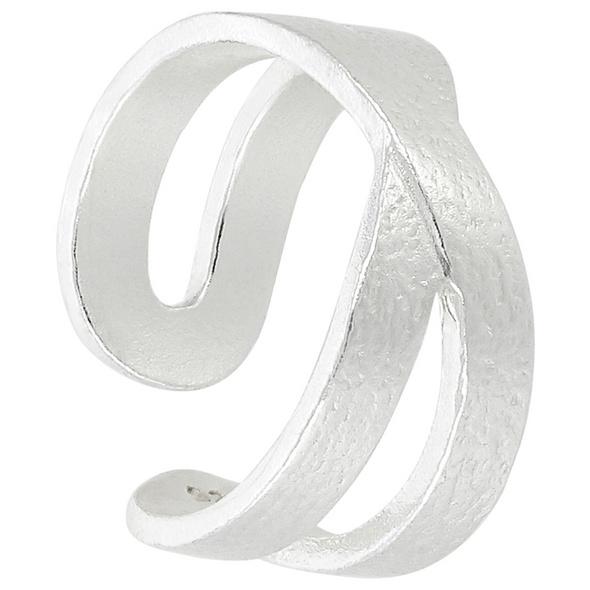 Earcuffs - Mat Silver
