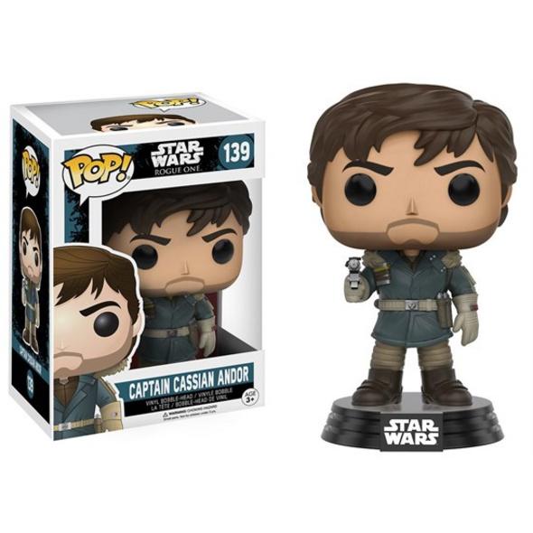 Star Wars Rogue One - POP! Vinyl-Figur Captain Cassian Andor