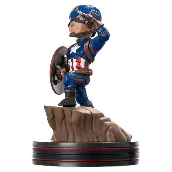 Marvel Captain America - Figur Q-Fig Civil War