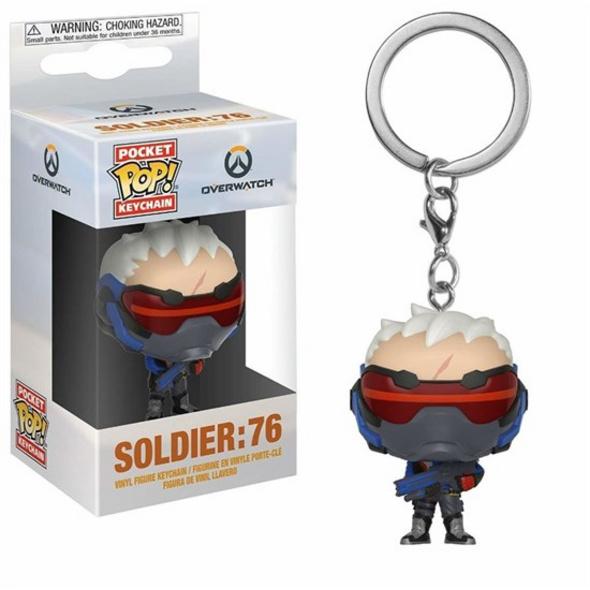 Overwatch - Pocket POP! Schlüsselanhänger Soldier 76