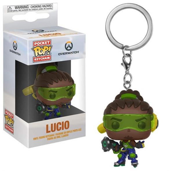 Overwatch - Pocket POP! Schlüsselanhänger Lucio