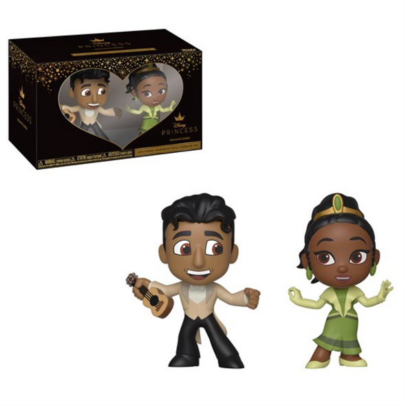 Küss den Frosch - Mini Vinyl Figuren Tiana & Naveen