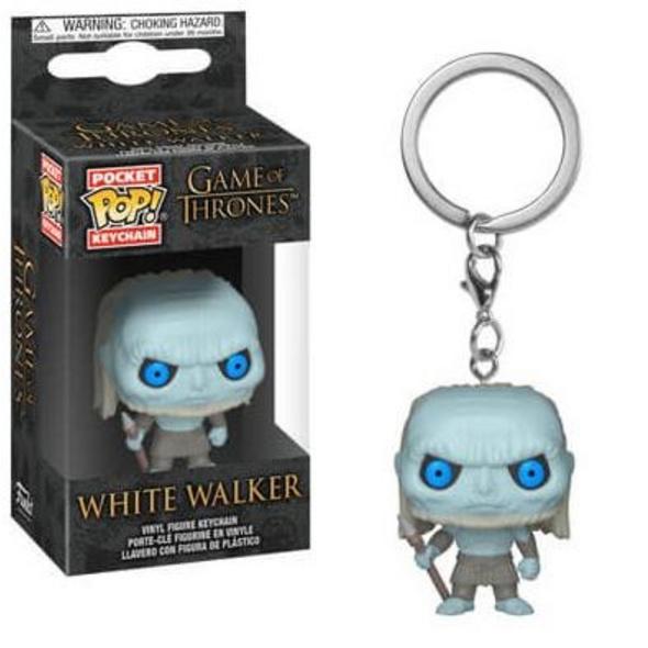 Game of Thrones - Pocket POP! Schlüsselanhänger Weißer Wanderer