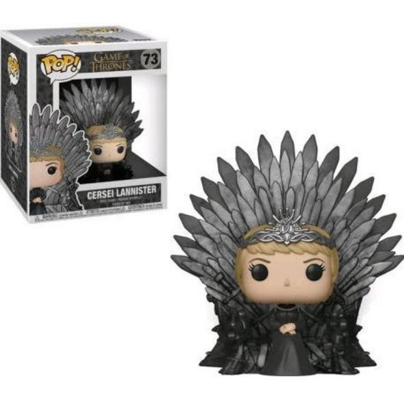 Game of Thrones - POP! Vinyl-Figur Cersei Lannister auf dem Eisernen Thron