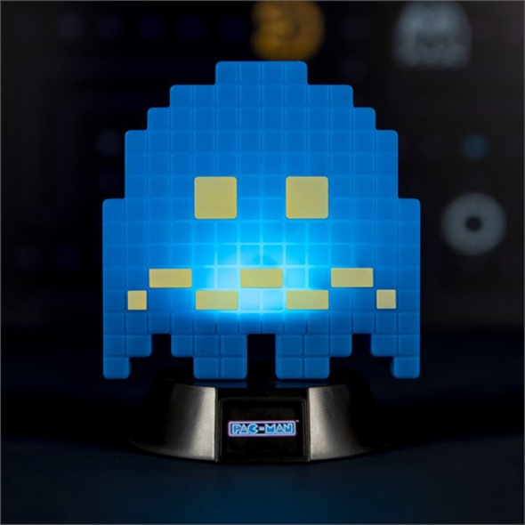 Pac-Man - Leuchte Geist blau 3D
