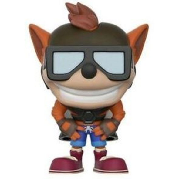 Crash Bandicoot - POP! Vinyl-Figur Crash Bandicoot mit Jet Pack