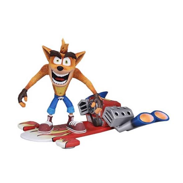 Crash Bandicoot - Actionfigur Hoverboard