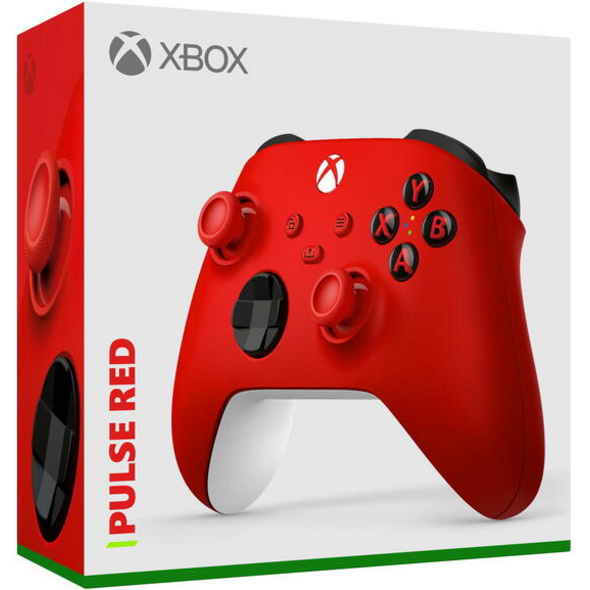 Xbox Wireless Controller Pulse Red (kompatibel mit Xbox Series X/S)