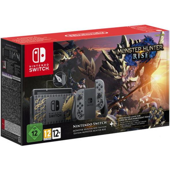 Nintendo Switch Konsole Monster Hunter RISE Edition