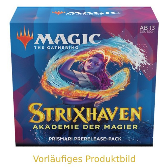 Magic the Gathering: Strixhaven - Akademie der Magier Prismari Commander Deck