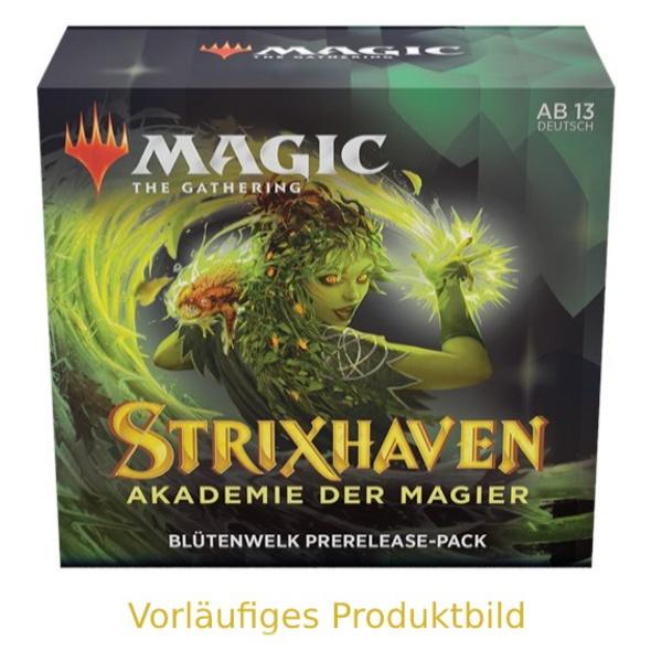 Magic the Gathering: Strixhaven - Akademie der Magier Blütenwelk Commander Deck
