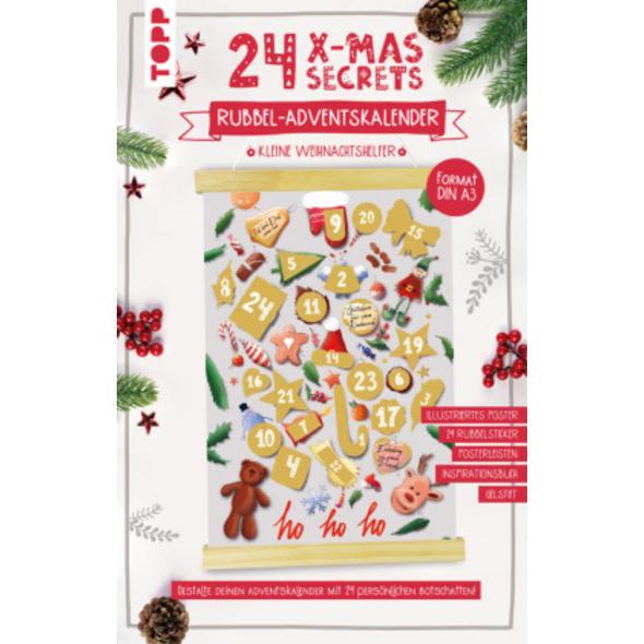 24 X-MAS SECRETS - Rubbel-Adventskalender - Kleine