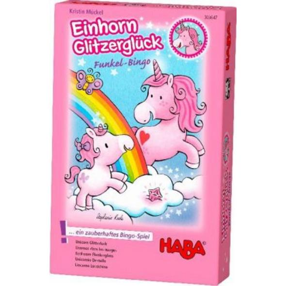 Einhorn Glitzerglück - Funkel-Bingo