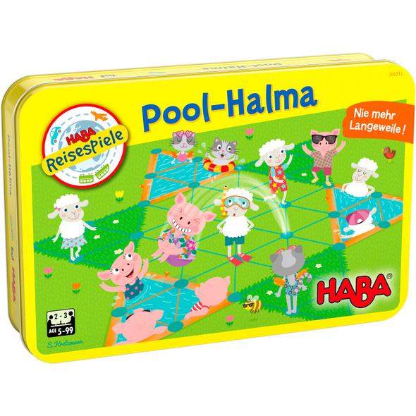 Pool-Halma  Kinderspiel