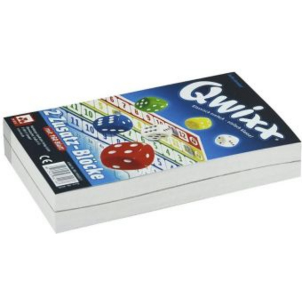 Qwixx Zusatzblöcke  2 Stück