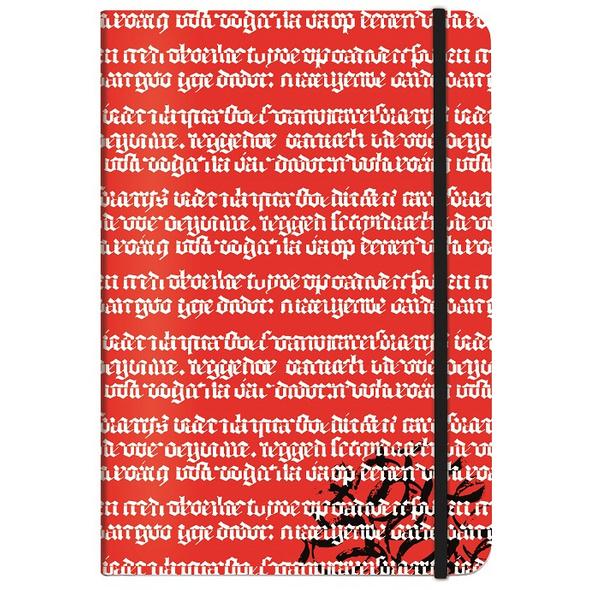 Hugendubel Notizbuch A 5 rot