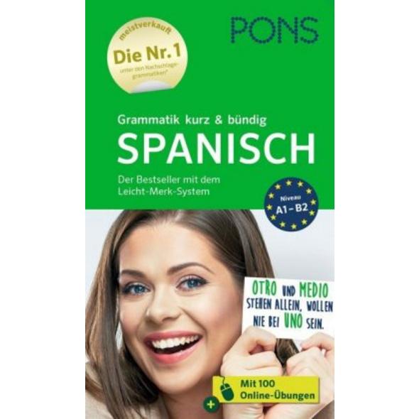 PONS Grammatik kurz   bündig Spanisch