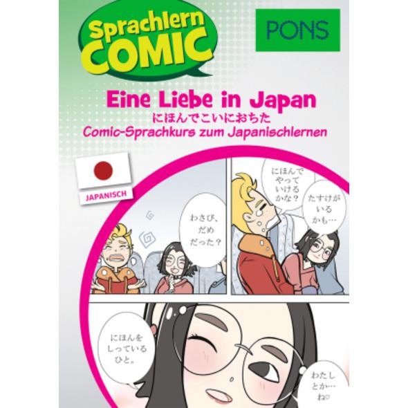 PONS Sprachlern-Comic Japanisch - Eine Liebe in Ja
