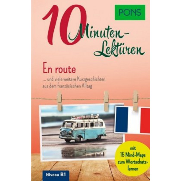 PONS 10-Minuten-Lektüren Französisch