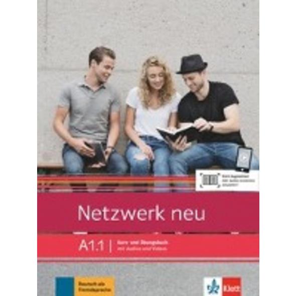 Netzwerk neu A1.1. Kurs- und Übungsbuch mit Audios