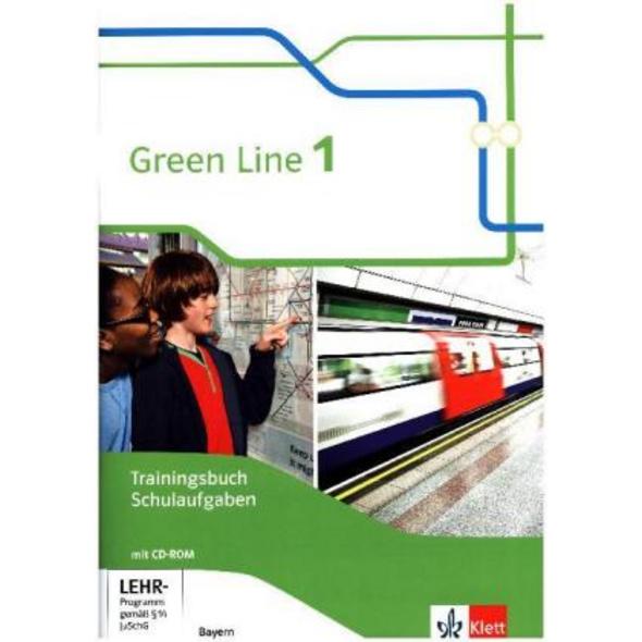 Green Line 1. Trainingsbuch Schulaufgaben mit Lösu