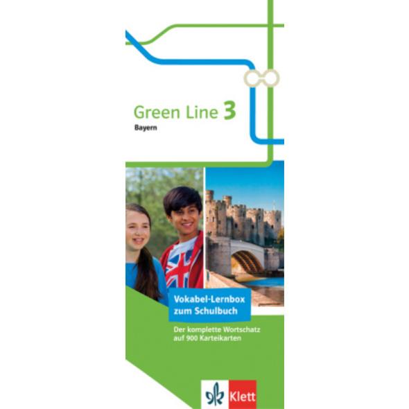 Green Line 3 Bayern Klasse 7 Vokabel-Lernbox zum S