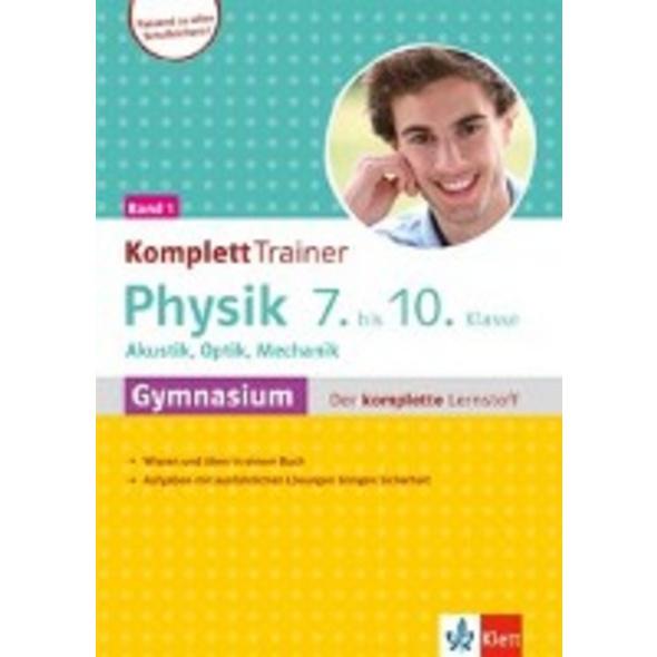 Klett KomplettTrainer Gymnasium Physik 7.-10. Klas
