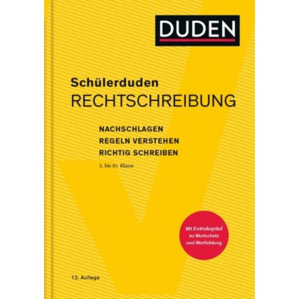 Schülerduden Rechtschreibung