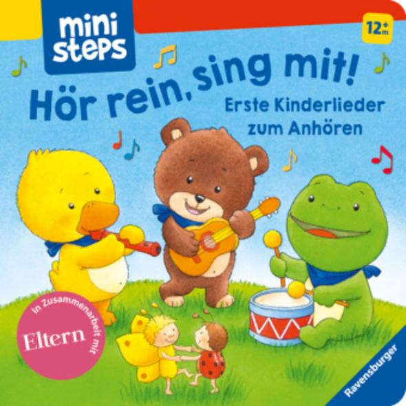 Hör rein, sing mit! Erste Kinderlieder zum Anhören