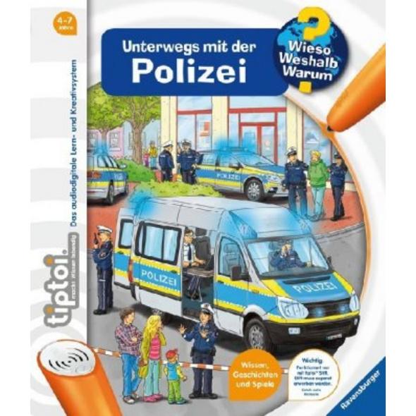 tiptoi  Unterwegs mit der Polizei
