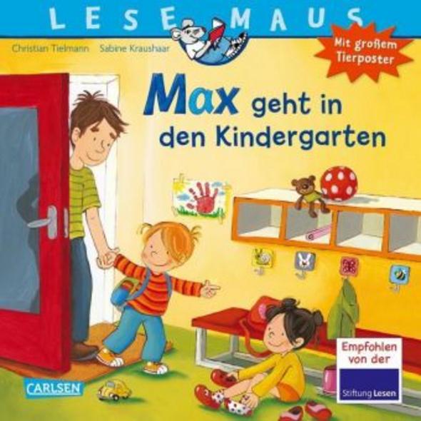 Max geht in den Kindergarten