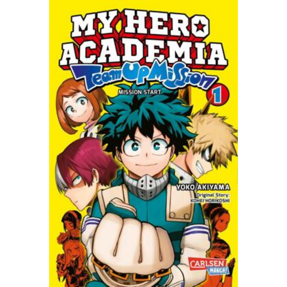 My Hero Academia Team Up Mission 1