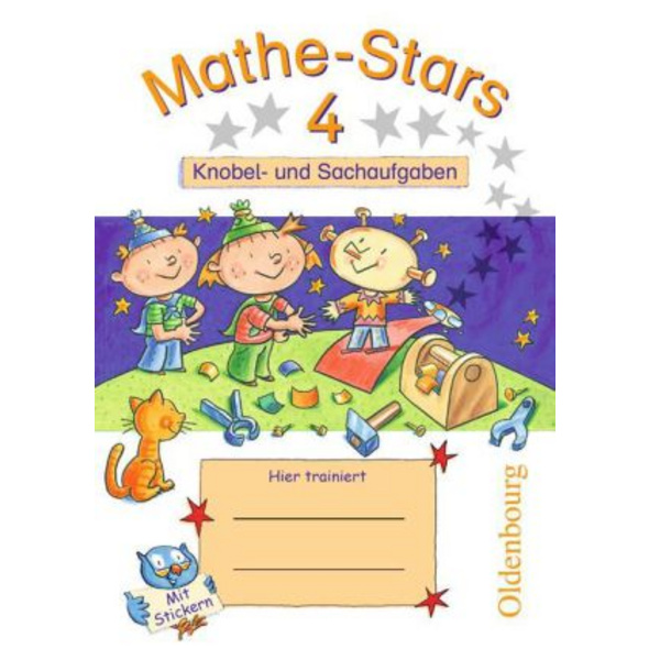 Mathe-Stars 4. Schuljahr - Übungsheft