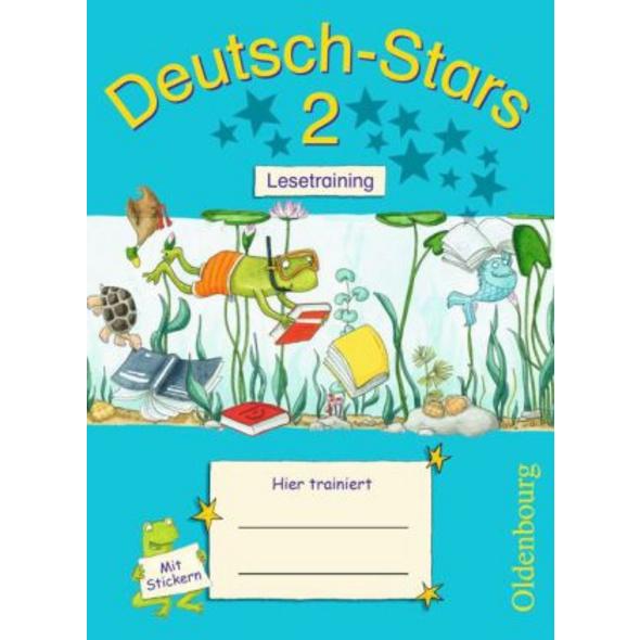 Deutsch-Stars 2. Schuljahr. Lesetraining